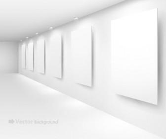 Interiors exhibition Vector