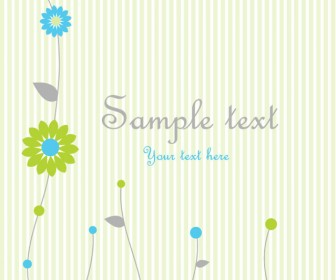 Sweet Greeting Card Vector