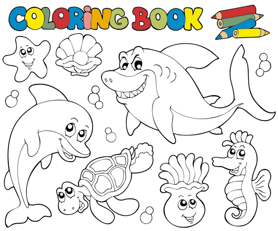 Coloring Book Vector Download Link Preview This