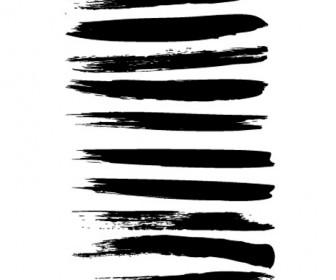 33 Paint Brush Style Vector