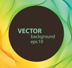 Abstract Vector Line Background Art