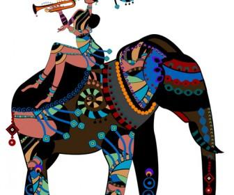 Illustration African Girl 2