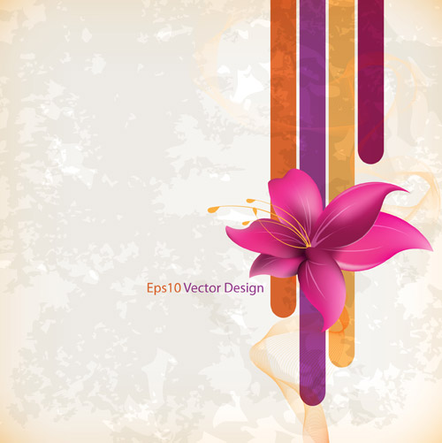 Flower Gentle Background Ai Svg Eps Vector Free Download