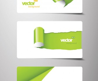 Business Card Paper Style