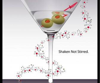 Free Vector Martini Glass