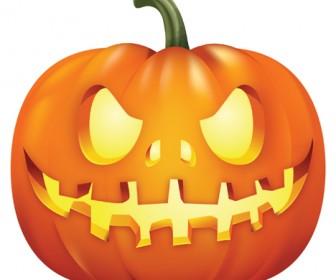 Halloween Pumpkin Portrait
