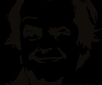 Jack is back vector portrait