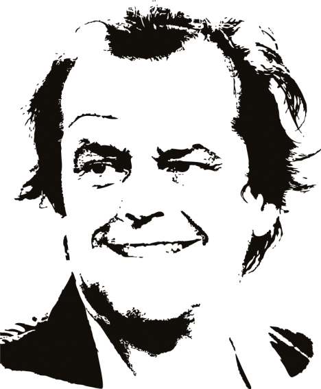 Celebrity silhouette vector graphics