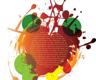 Grunge Text Background