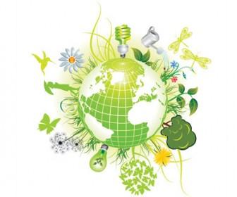Green Eco Logo Symbols