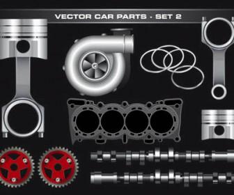 vector car park illustration