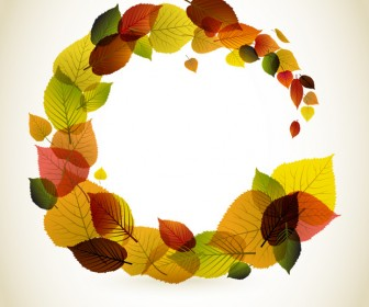 Autumn Background Vector Artwork