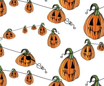 Pumpkin Patterns Swatch Pattern