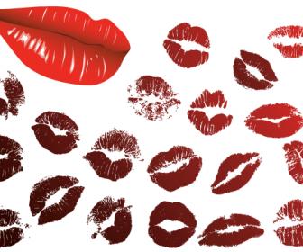 Vector Lips Kiss