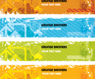 Grunge Banners