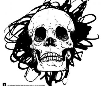 Vector Skull Room122