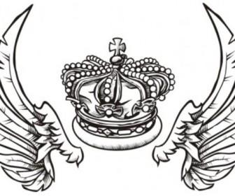Fashion Crown Wings
