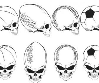 Sport Skulls Pack