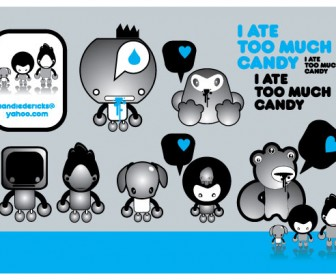Candy Vector Pack