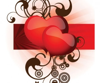 Valentine Vector Red Heart