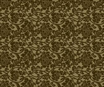 Floral Pattern Vintage Style