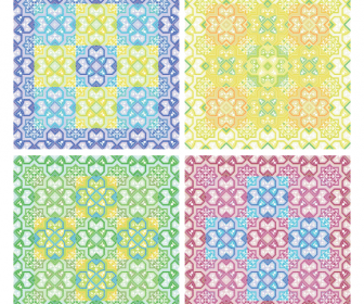 Colored Pattern Background