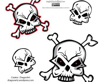 4 Free Skull Vectors
