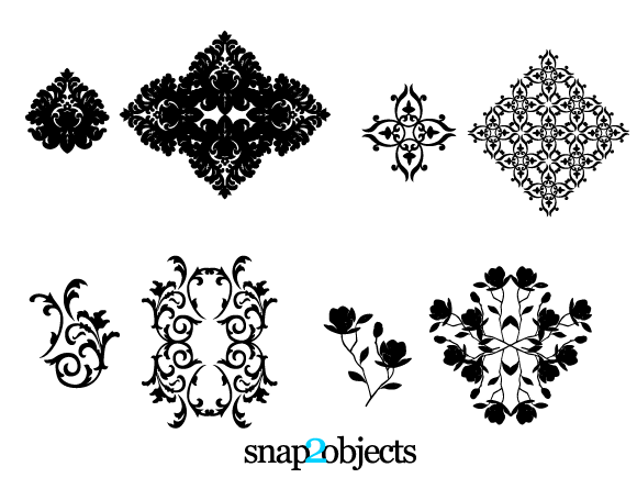 Floral Ornament Vector Free: Ai, Svg, Eps Vector Free Download