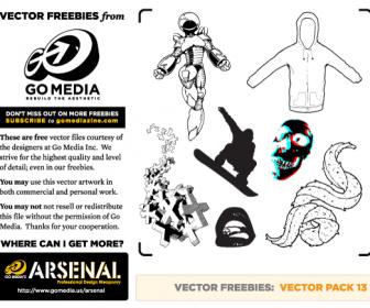 Freebies Vector Pack 13