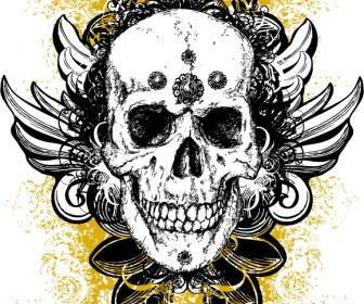 Free Grunge Skull