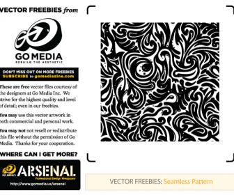 Seamless Swirls Pattern