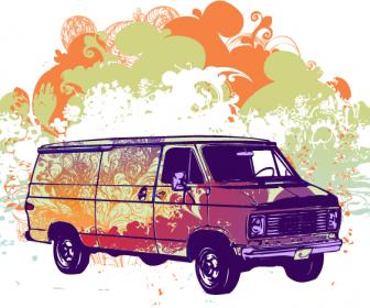 Psychadelic Van