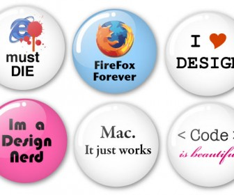 Humorous Vector Badges