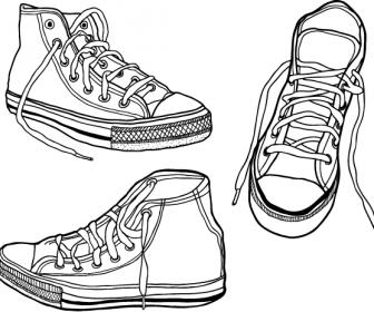 Vector Sneaker Graphics