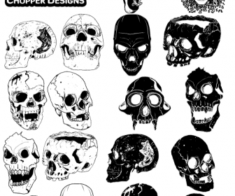 ChoppreDesigns Skull