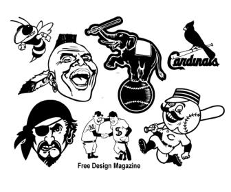 Baseball Club Characters