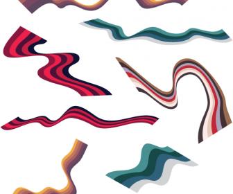 Wavy Ribbon Graphics