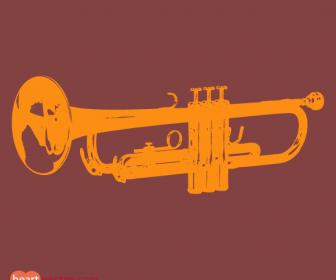 Trumpet Instrument Vectors