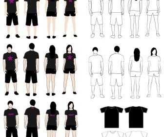 T-Shirt Models Pack