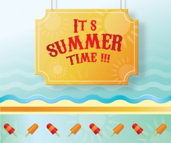 Summer Time Vector Art
