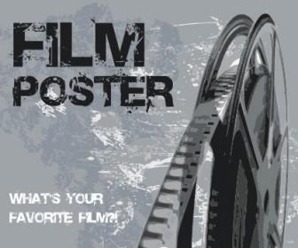 Film Poster Vector Art