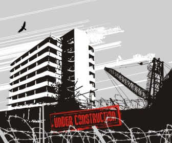 Construction Urban Landscape Vector