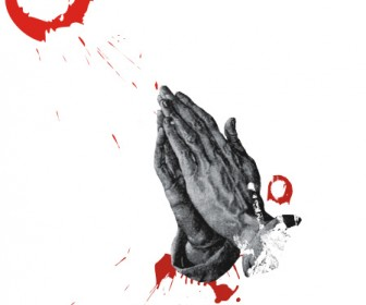 Praying Hands Vector Graphics