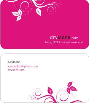 2 sides pink business card vector template download free vector pink business card vector template download link preview this vector fbccfo Image collections