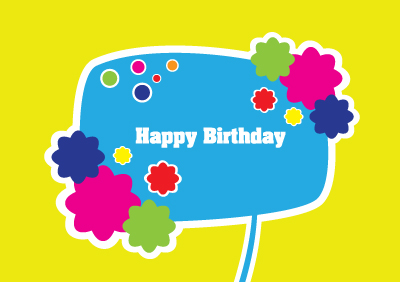 Template Birthday Coreldraw Card Kids Vector For Happy Download Free