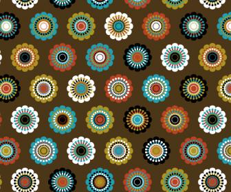 Seamless Folk Pattern Vector Art