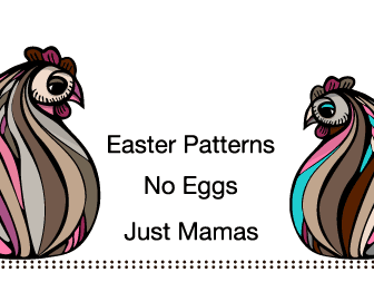 Easter Vector Patterns No Eggs