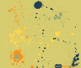 Paint Splatter Vector Graphics