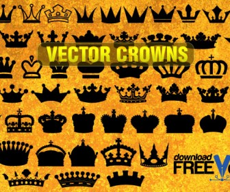 Crown Vector Silhouette Freebies