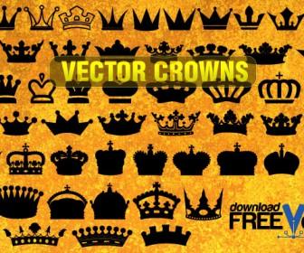 Crown Vector Silhouette Freebies